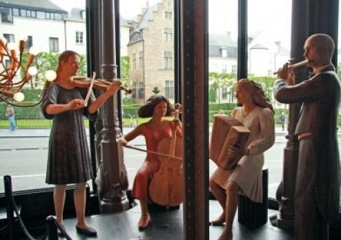 Museo de Instrumentos Musicales en Bruselas