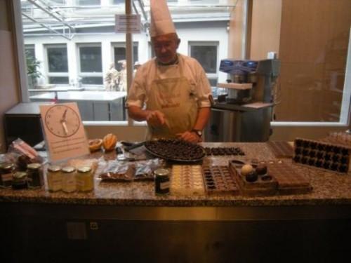 Choco Story, museo del chocolate en Brujas