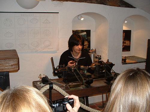 El Museo del Diamante en Brujas
