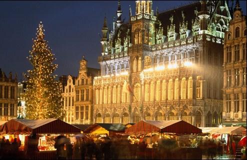 Navidades 2009 en Bruselas