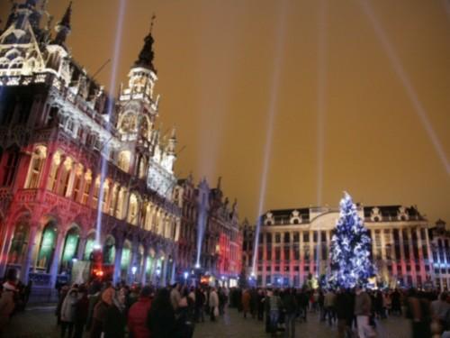 Placeres de Invierno navideño en Bruselas