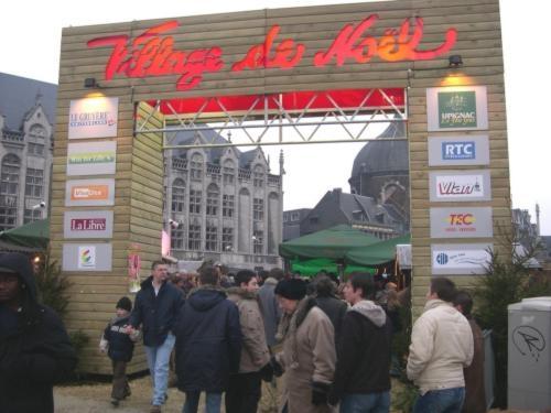 La Villa de Noel, espíritu navideño en Lieja