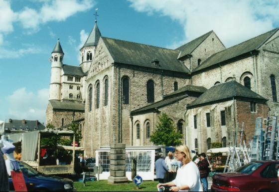 Catedral de Santa Gertrudis en Nivelles
