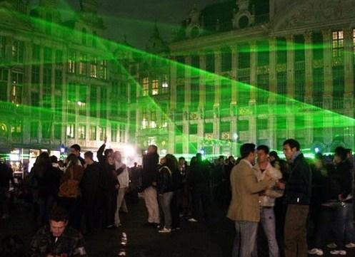 La Noche en Blanco 2010 en Bruselas