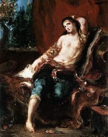 Odalisca de Delacroix