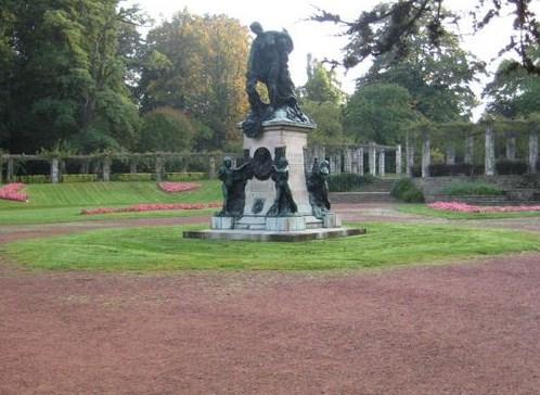 El Parque de la Ciudadela en Gante