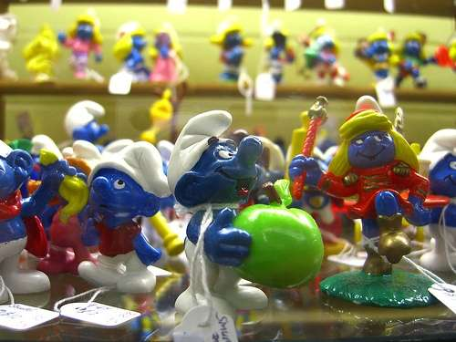 Los Pitufos, personajes del comic belga