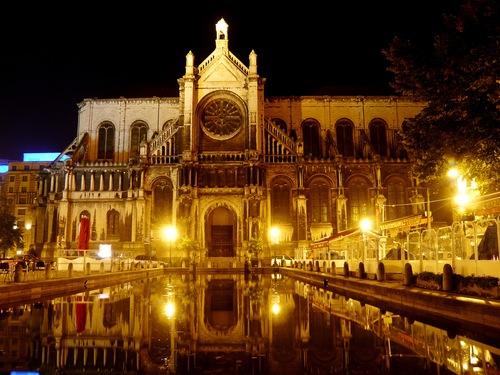 La Plaza de Santa Catalina en Bruselas