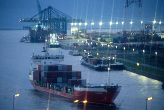 El maravilloso puerto de Amberes