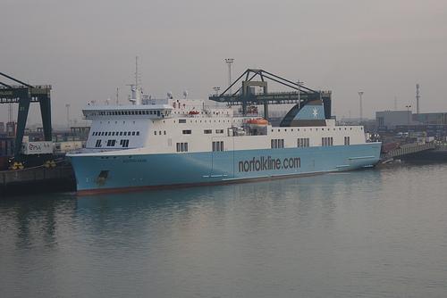 Ferry en Zeebrugge