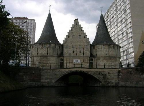 El Rabot, puerta medieval en Gante