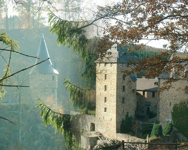 El Castillo de Reinhardstein, fortaleza alemana en Bélgica
