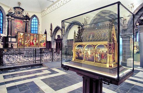 El Relicario de Santa Úrsula en Brujas