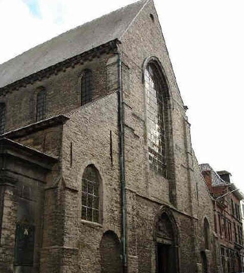 La Iglesia de San Piat en Tournai