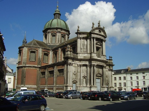 Catedral de Saint Aubain, diseño italiano en Valonia