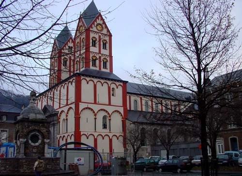 La Colegiata de San Bartolomé en Lieja