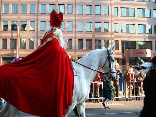 Fiesta de San Nicolás en Bélgica