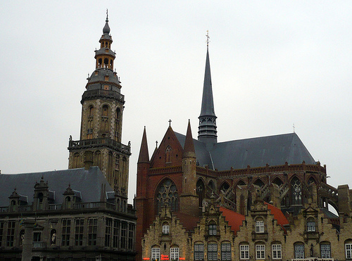 La Iglesia de Santa Walburga en Veurne