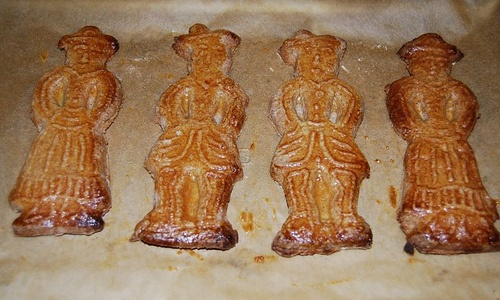 Speculaas, las galletas de Flandes