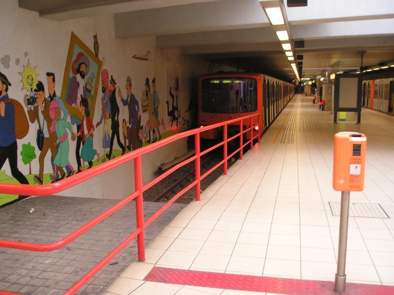 Estación de metro de Stockel