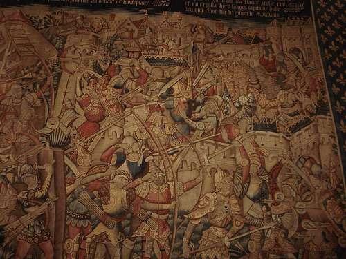 Los tapices de Arras de la Catedral de Tournai