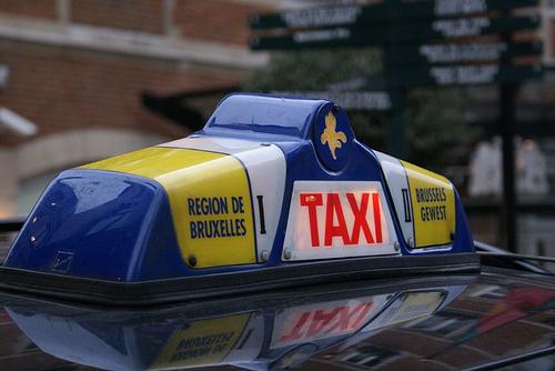 El Sputnik de los taxis en Bruselas