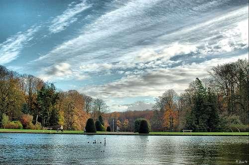 El Parque Natural de Tervuren en Bruselas