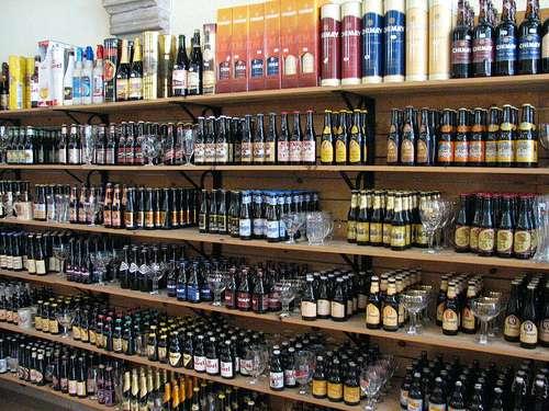 The Bottle Shop, tienda de cerveza en Brujas