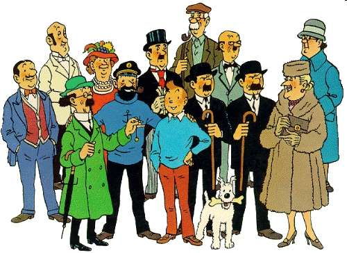 Hergé y Tintín, los hijos más famosos de Bruselas