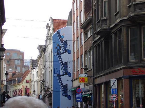 Tintín en Bruselas