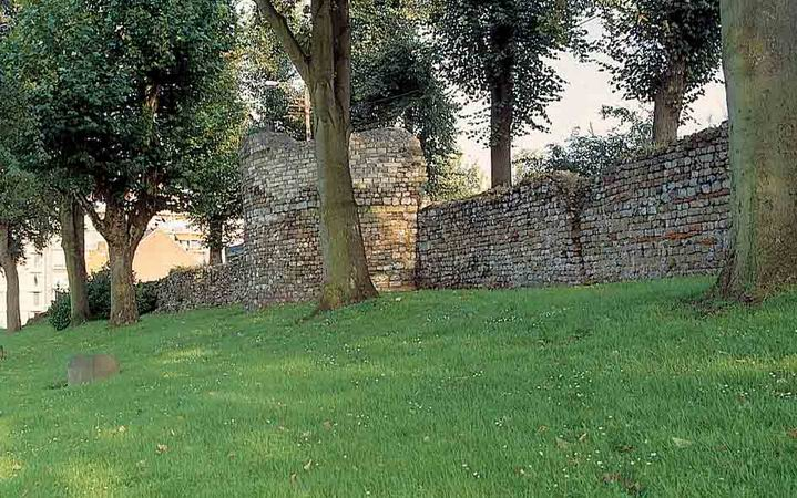 Las murallas de Tongeren