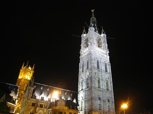 Torre-Campanario de Gante