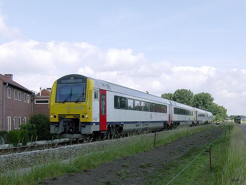 Tren en Belgica