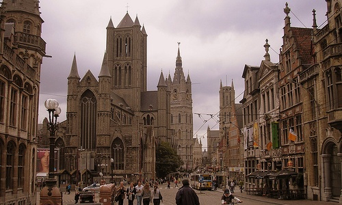 Las tres torres de Gante
