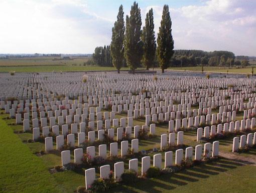 Ruta por el Flandes de la Primera Guerra Mundial