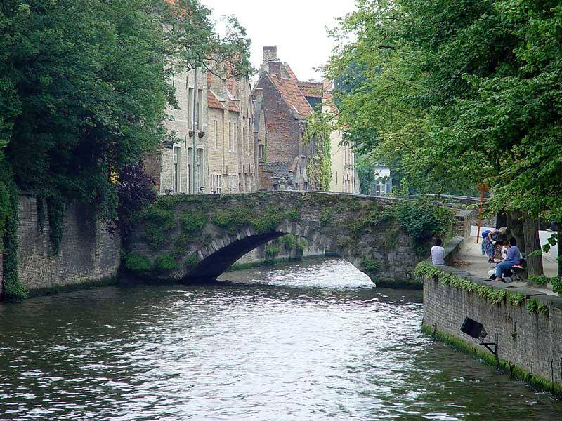 Brujas es conocida como la Venecia del Norte