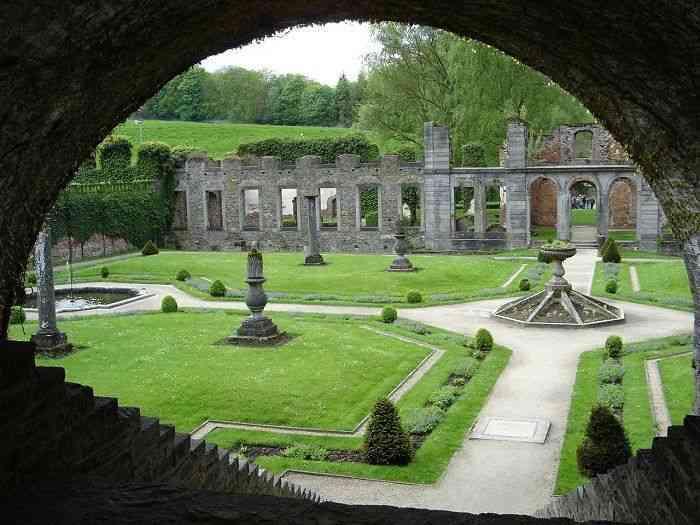 Las ruinas de la Abadía de Villers-la-Ville