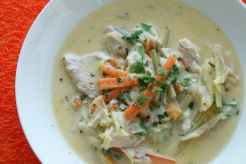 El «Waterzooi», tradicional plato belga